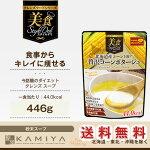 クレンズフードシリーズ美食スタイルデリ北海道コーン100%贅沢コーンポタージュ446g(粉末スープ)