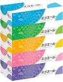 大王製紙エリエールティッシュ360枚(180組)5箱×12パックまとめ買い