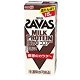 明治 SAVAS ザバス ミルクプロテイン 脂肪0 ココア風味 200ml×24本入り プロテイン ダイエット プロテイン飲料 プロテインドリンク スポーツ飲料