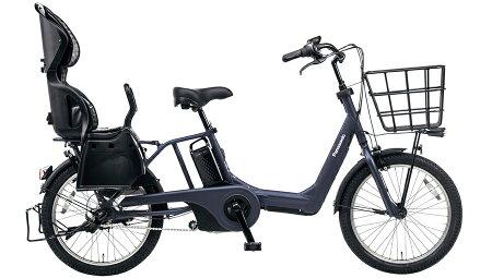 BE-ELMA032BギュットアニーズDX16Aマットネイビー電動自転車パナソニック子供乗せ20インチ電動アシストサイクル2017年3人乗り対応盗難補償、傷害保険付完成車※1201_flash05P03Dec16