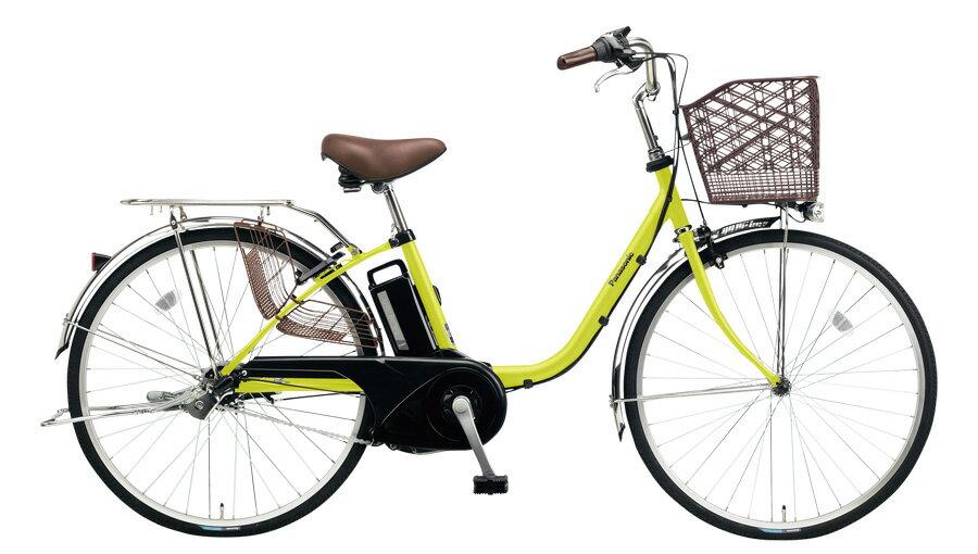 パナソニックビビ・TXBE-ELTX633Gピスタチオ26インチ6.6A2018電動アシスト自転車完成車