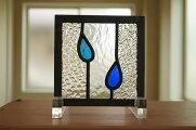 ステンドグラス6種のガラスクリア