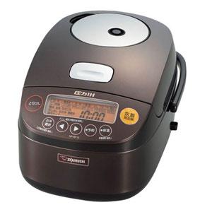 圧力IH炊飯ジャー 1升 炊き 極め炊き 鉄器コート プラチナ厚釜 ダークブラウン