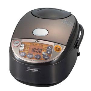 IH炊飯ジャー 1升 炊き 極め炊き 黒まる厚釜 ブラウン
