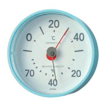 【楽天スーパーSALE!店内全品ポイント5倍 12/04〜12/11 01:59迄】エンペックス プレーン温・湿度計 TM-7816 エアブルー シンプルでスマート、可愛い温・湿度計♪見やすい判りやすいアナログタイプ。温度計 湿度計 温湿度計