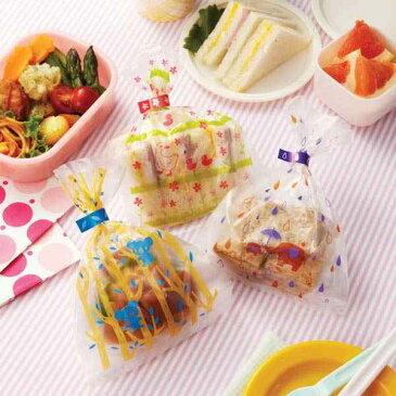 ラッピング袋 お菓子 小物 ポリ袋 ミニ 小さい 小型 巾着袋 プチギフト 包装 止めシール付き 70枚入