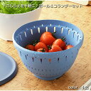ボウル コランダー ザル セット 蓋付き Lサイズ 調理器具 下ごしらえ キッチン便利グッズ リベラリスタ