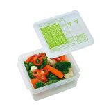 レンジで簡単ゆで野菜 ゆで野菜調理ケース Sサイズ