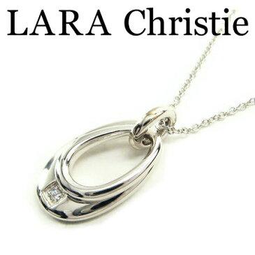 LARA Christie ララクリスティー ジュピターネックレス ホワイト レディース ネックレス キュービックジルコニア シルバー925 P3117-W
