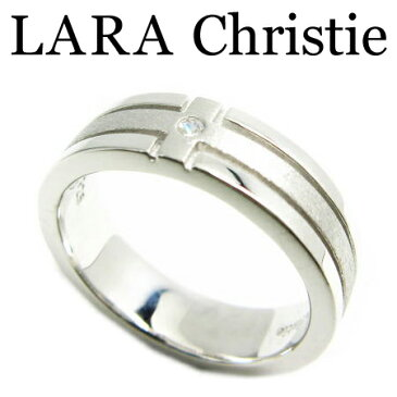 【廃番・最終在庫】LARA Christie ララクリスティー ルーラーオブヘブンリング 11号 ホワイト レディース リング キュービックジルコニア シルバー925 R3869-W