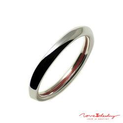 赤い糸で結ばれたアクセサリーLOVEofDESTINYメンズリングシルバー950(SV950)LODR-027M02P23Sep15