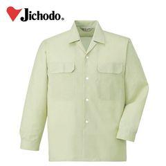 作業服 作業着 ワークウェア 自重堂 春夏作業服 長袖オープンシャツ 2155 シャツ 仕事着 メンズ ワークシャツ 刺繍 ネーム刺繍