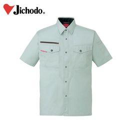 作業服 作業着 ワークウェア 4L 自重堂 春夏作業服 半袖シャツ 84214 刺繍 ネーム刺繍