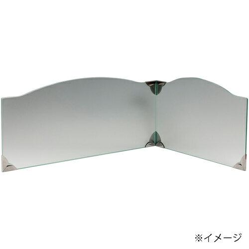 強化ガラス 飛散防止フイルム付池永鉄工 IR-800MT レンジガード (ミストラル)