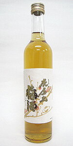 山形づくしの原料梅酒!【「虎屋の梅酒」500ml】<千代寿虎屋>