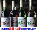 【送料無料】地元で愛される人気のワイン♪【「蔵王スターワイン720ml」よりどり12本セット】<山形県・タケダワイナリー>