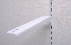 ロイヤル棚柱用ブラケット木棚用ホワイト150左右セット