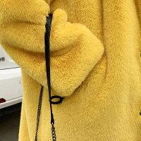 ファーコートフェイクファーコートレデイースファーボアブルゾン防寒コートロング丈冬長袖ゆったり軽量防風防寒ふんわり暖かいあったか柔らかいショート丈モコモコ韓国風きれいめアウターカジュアル秋冬