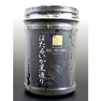 ≪ホクチン≫ご飯のお供に、おつまみにほたるいか黒造り150g