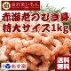 【送料無料】 金沢まいもん寿司が厳選!赤海老むき身1kg 2個買って寿司屋のネギトロ300…