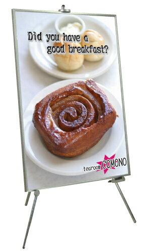 イーゼル スタンド ポスターパネル イーゼルスタンド M EZ-M 誘導看板 案内看板 学校 飲食 美...