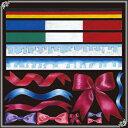 シール りぼん風 国旗 フランス イタリア 装飾 デコレーションシール チョークアート 窓ガラス 黒板 看板 POP ステッカー (最低購入数量3枚〜)