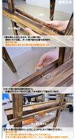 [黒板]焼杉イーゼルと焼杉ボード(チョーク黒板)のセット【看板店舗用/A型/折りたたみ式】