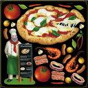 シール ピザ コック エビ イカ トマト マルゲリータ 装飾 デコレーションシール チョークアート 窓ガラス 黒板 看板 POP ステッカー 用