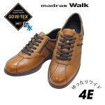 GORE-TEXゴアテックス靴マドラスウォークmadras-WALKMW8010ライトブラウン4EGORETEXゴアテックス靴ウォーキングシューズクツくつ