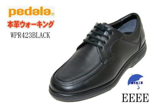 アシックス ウォーキングシューズ ASICS PEDALA WPR423黒4E メンズ 靴 くつ クツ 【sm...