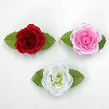 造花バラ記章(胸章・胸花・コサージュ)