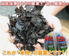 『放射能測定済み』 安心安全の日本産落葉使用! 金の腐葉土【20L】