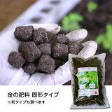 金の肥料【500g 固形タイプ:約50個】【固形タイプ・粉タイプが選べます】