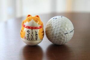 彩絵おきあがり招き猫(とら)
