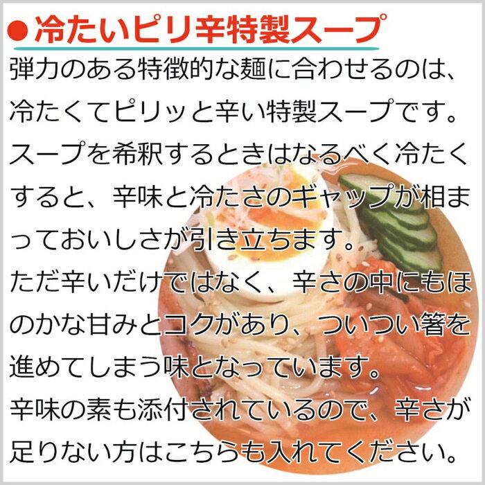 岩手の名物 盛岡冷麺 お試しセット4食分(2食入り×2袋)
