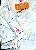 介護パジャマ前 マジックテープグンゼ婦人長袖長ズボンパジャマ介護用パジャマTG4183