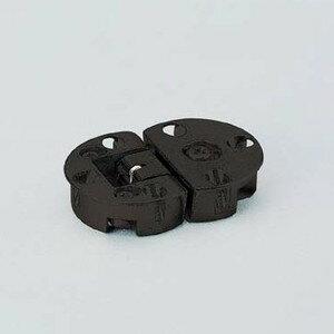 ドロップ丁番 【LAMP】 スガツネ SDH-001BL 3方向調整式丁番 仕上: ブラック 焼付塗装。