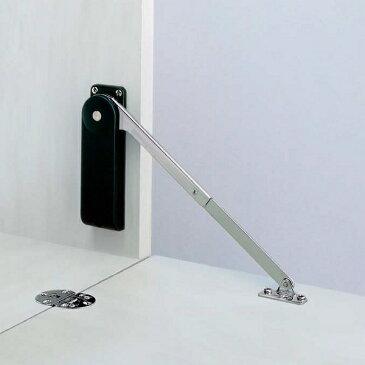 ソフトダウンステー 重量扉用 【LAMP】 スガツネ HDS-10K キャッチ付 扉1枚あたり左・右用を各1ヶ所ずつ使用。 色: ブラック / ホワイト 2色 ソフトダウン ステー
