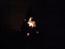 灯り瓦円錐うさぎ