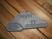 いぶし銀の富士山