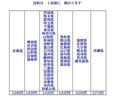 水シャット重量運賃表
