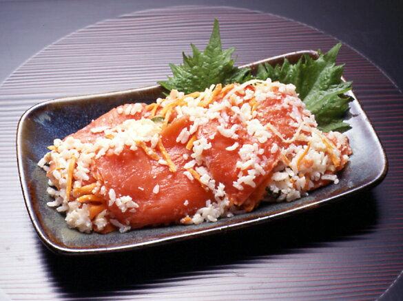 函館カネニ 紅鮭飯寿司(いずし)