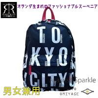 TOKYOリュックサックブラック/R.R