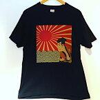 【メール便送料無料】抜染 和 和柄 日本 お土産 Tシャツ 写楽 浮世絵 外国人 人気 東京 浅草 スーベニア Souvenir Tshirts JAPAN TOKYO ブラック BLACK