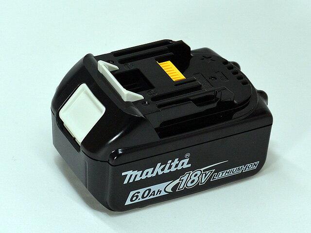 マキタ18V バッテリBL1860Bバッテリ残容量表示付きプラス自己故障診断★クリーナー以外使用できないモデルがありますので注意