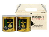 【GOSEI】宋家一品のり缶ギフトセット[8切x54枚(30g)X2缶入]