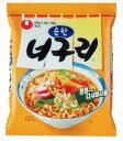 さっぱりした辛味の海鮮スープにシコシコ麺5083 農心 ノグリラーメン (純味)120g 【韓国食品・ラーメン】