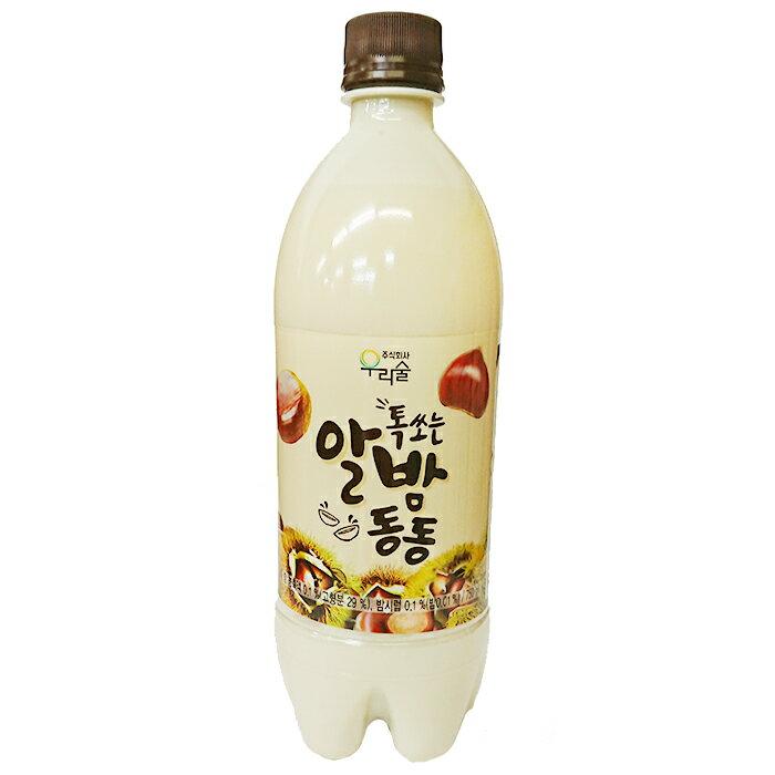 【ウリスル】炭酸入り栗マッコリ 750ml