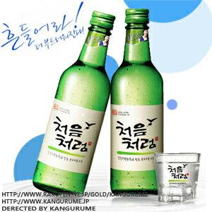 Soju soju 360 ml ■ Korea food ■ Korea food materials and Korea cuisine and Korea souvenir / sake sake / shochu / Korea liquor Korea alcohol / Korea shochu / cheap