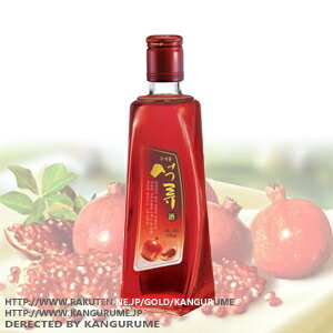 Pomegranate wine 375 ml ■ Korea food ■ Korea food materials and Korea cuisine and Korea souvenir / sake sake / shochu / Korea liquor / Korea alcohol fruit wine / cheap